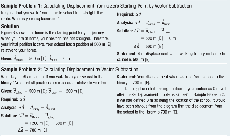 Distance Displacement and Position Grade 11 Physics – Distance Displacement Worksheet